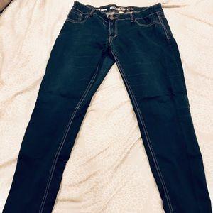 Mossimo skinny stretch jeans